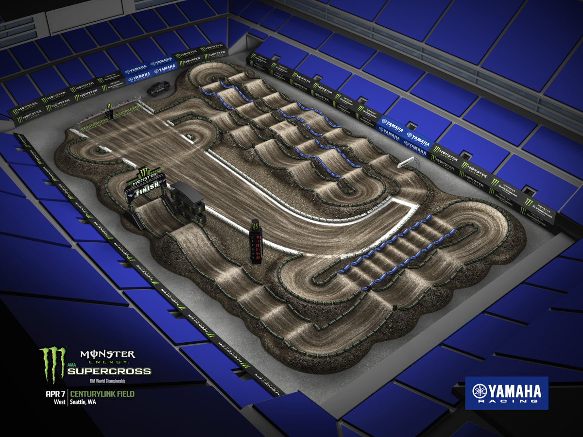 Track Map Seattle Supercross 2018 Tickets