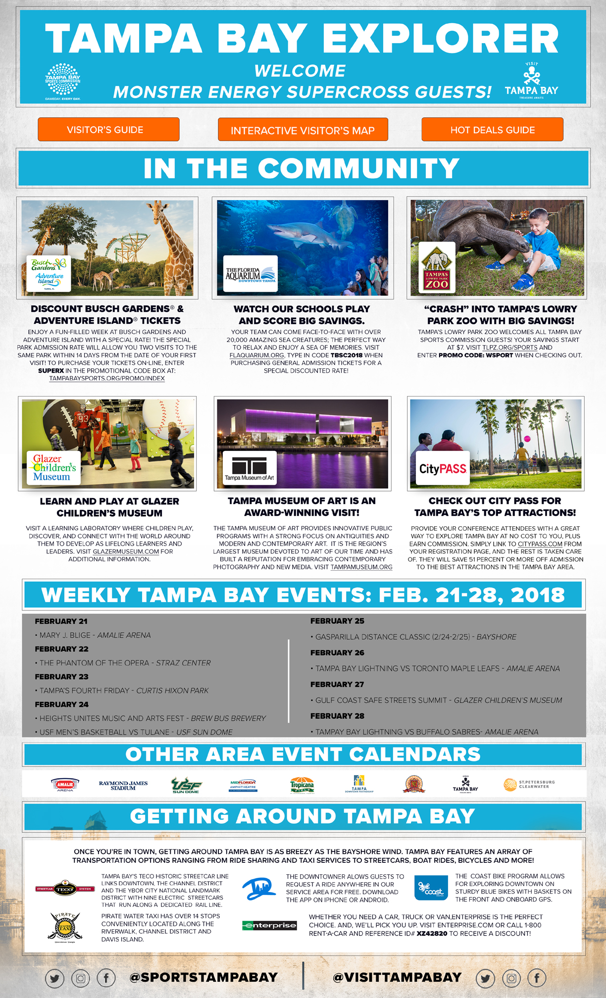 Tampa Supercross 2018 Tickets