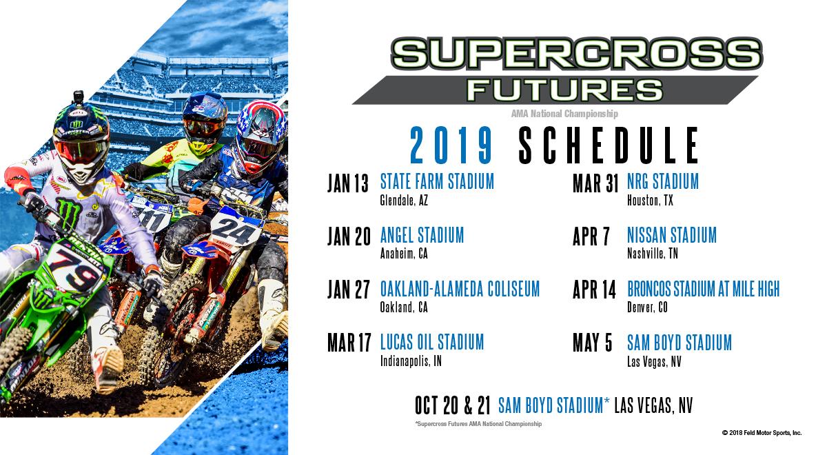 2019 Supercross Futures Schedule
