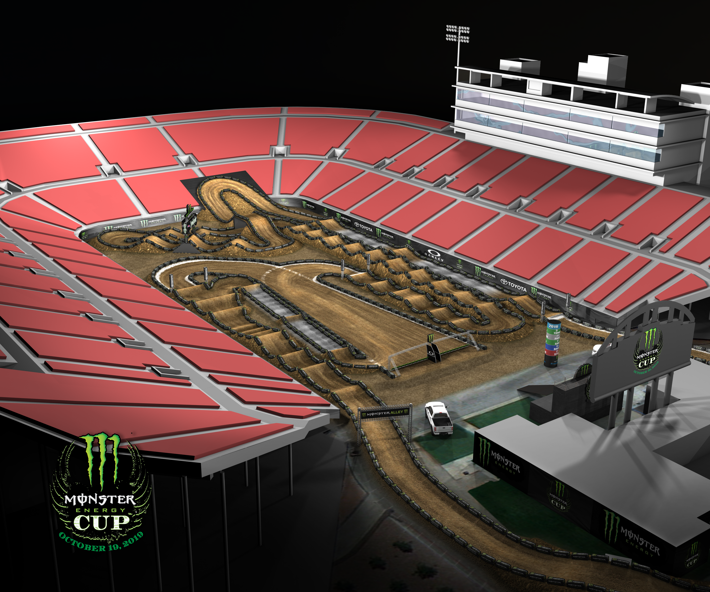 Monster Energy Cup track