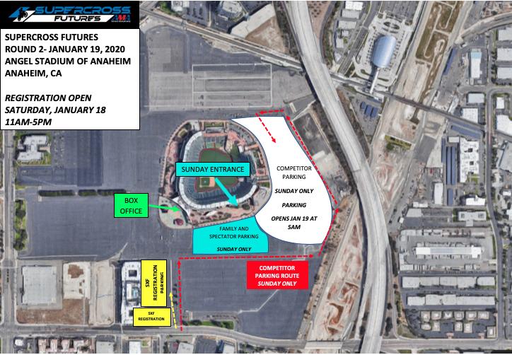 Anaheim 2 Venue Map