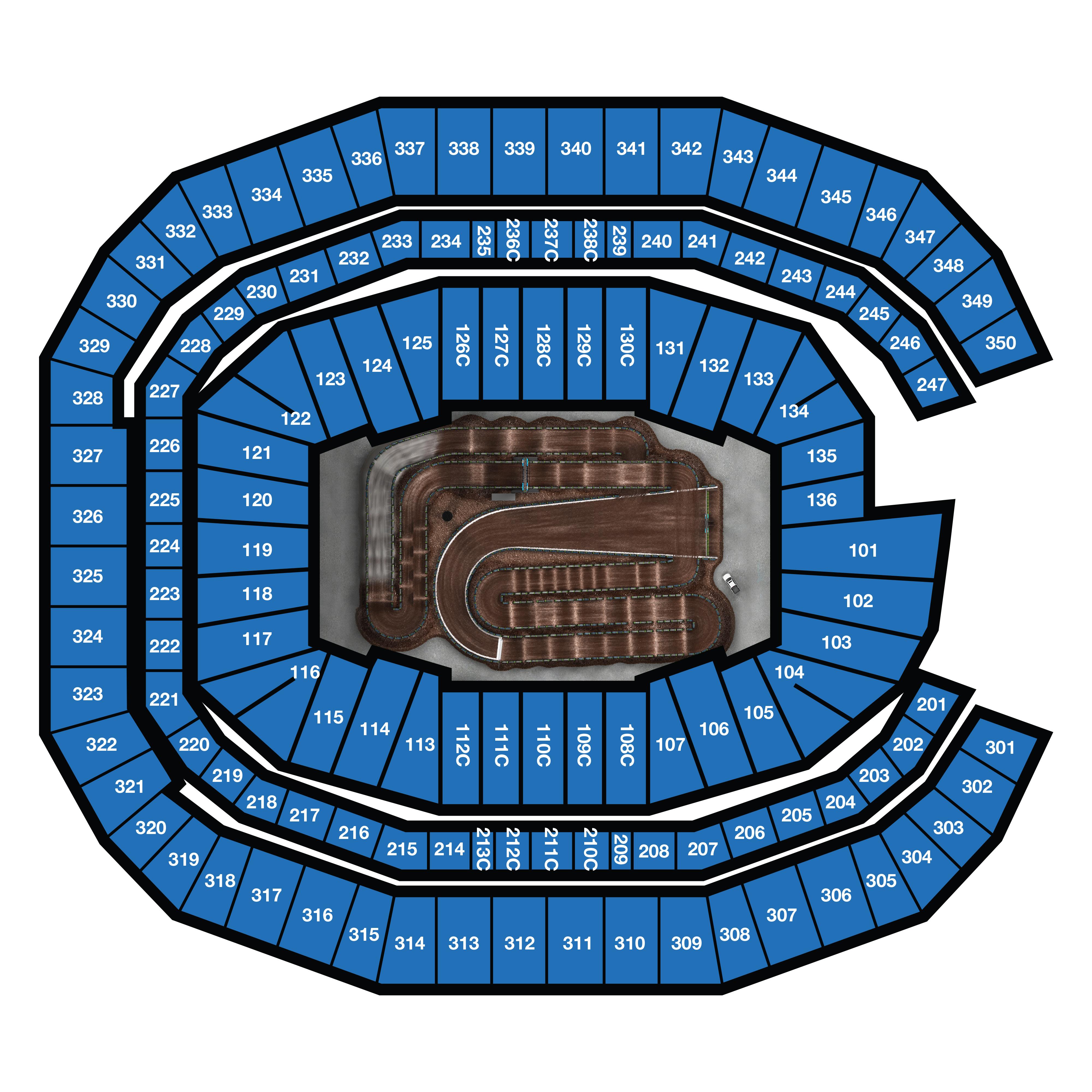 Atlanta Seating Chart