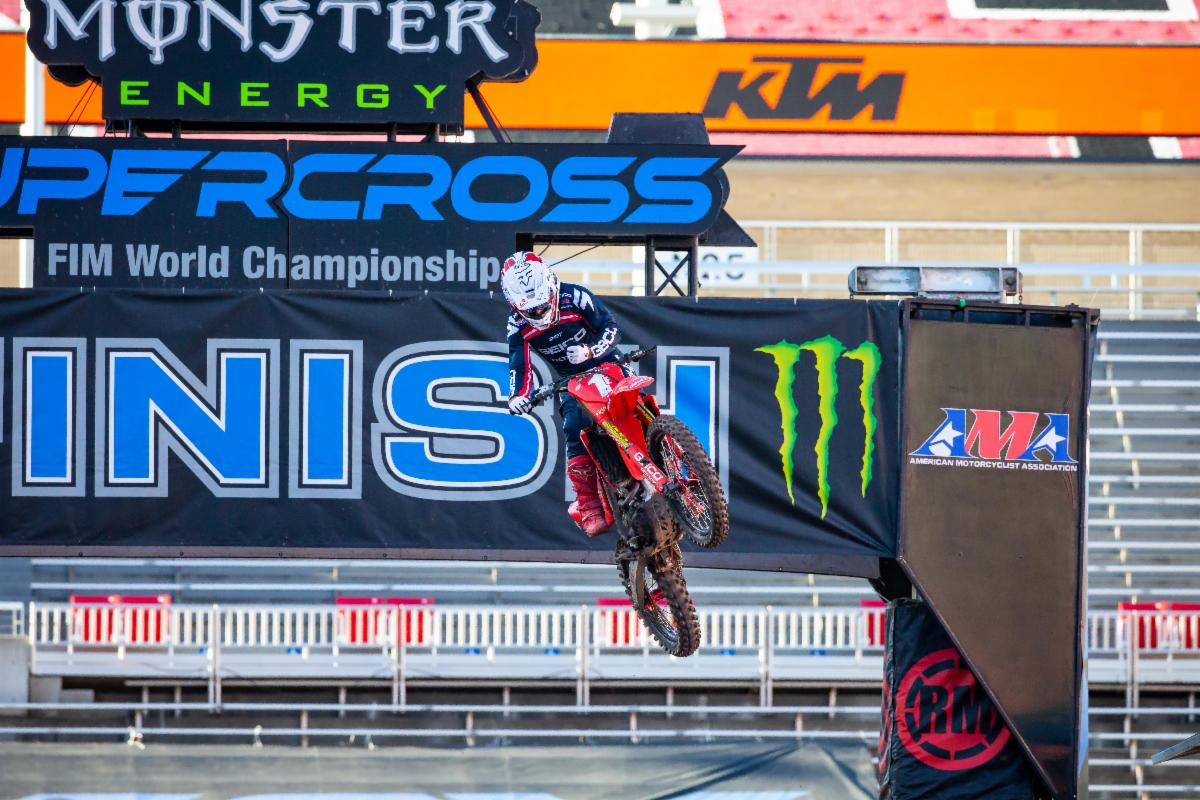 Chase Sexton second consecutive win.