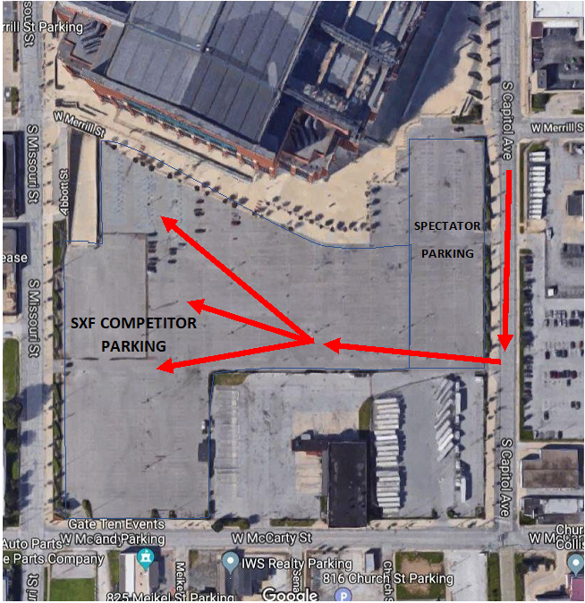 Competitor Parking