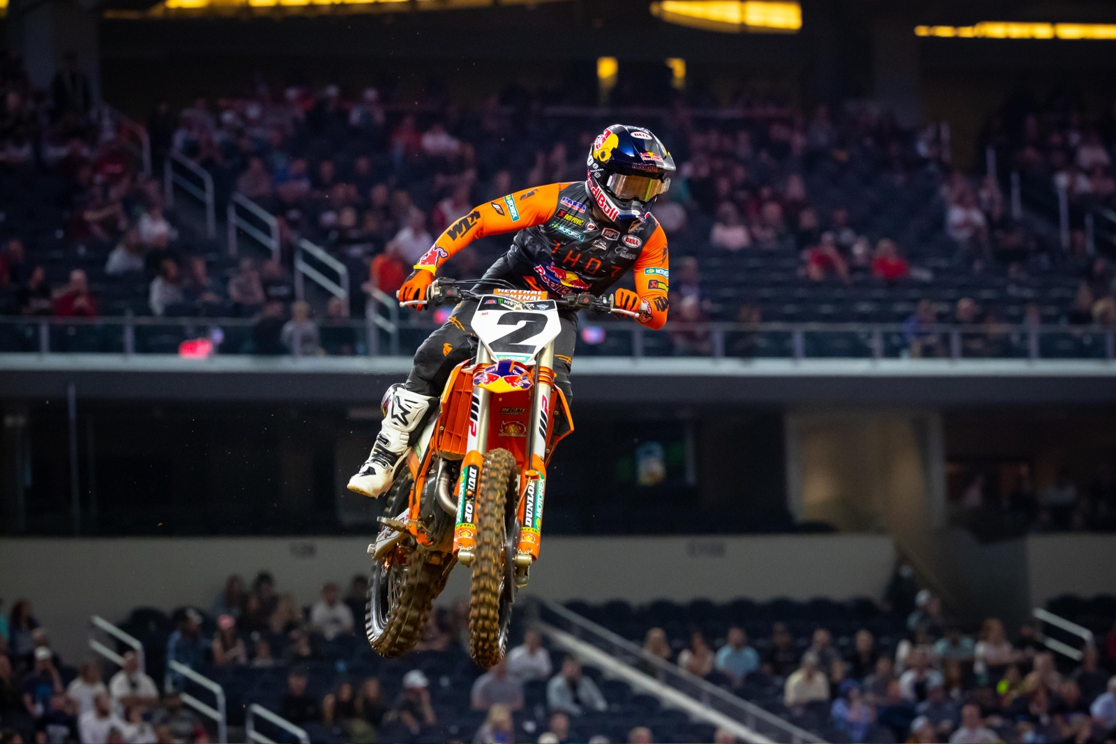 Cooper Webb returned to the top of the podium