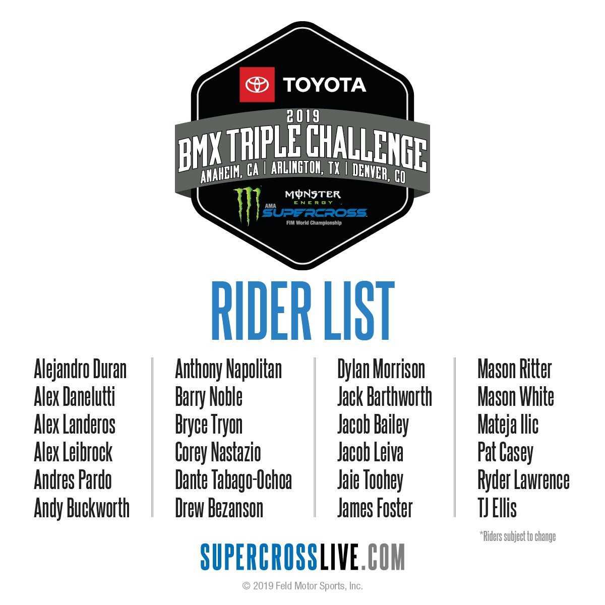Denver Supercross 2019 Tickets