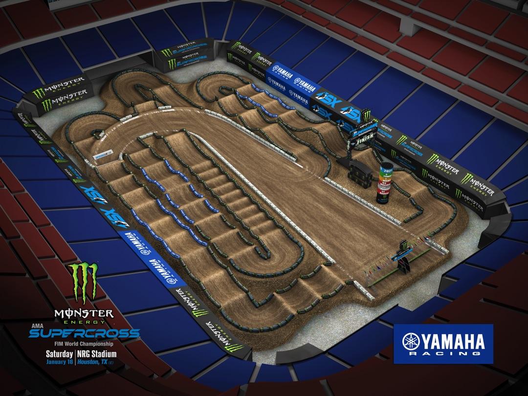Round 1 – Houston Track Map