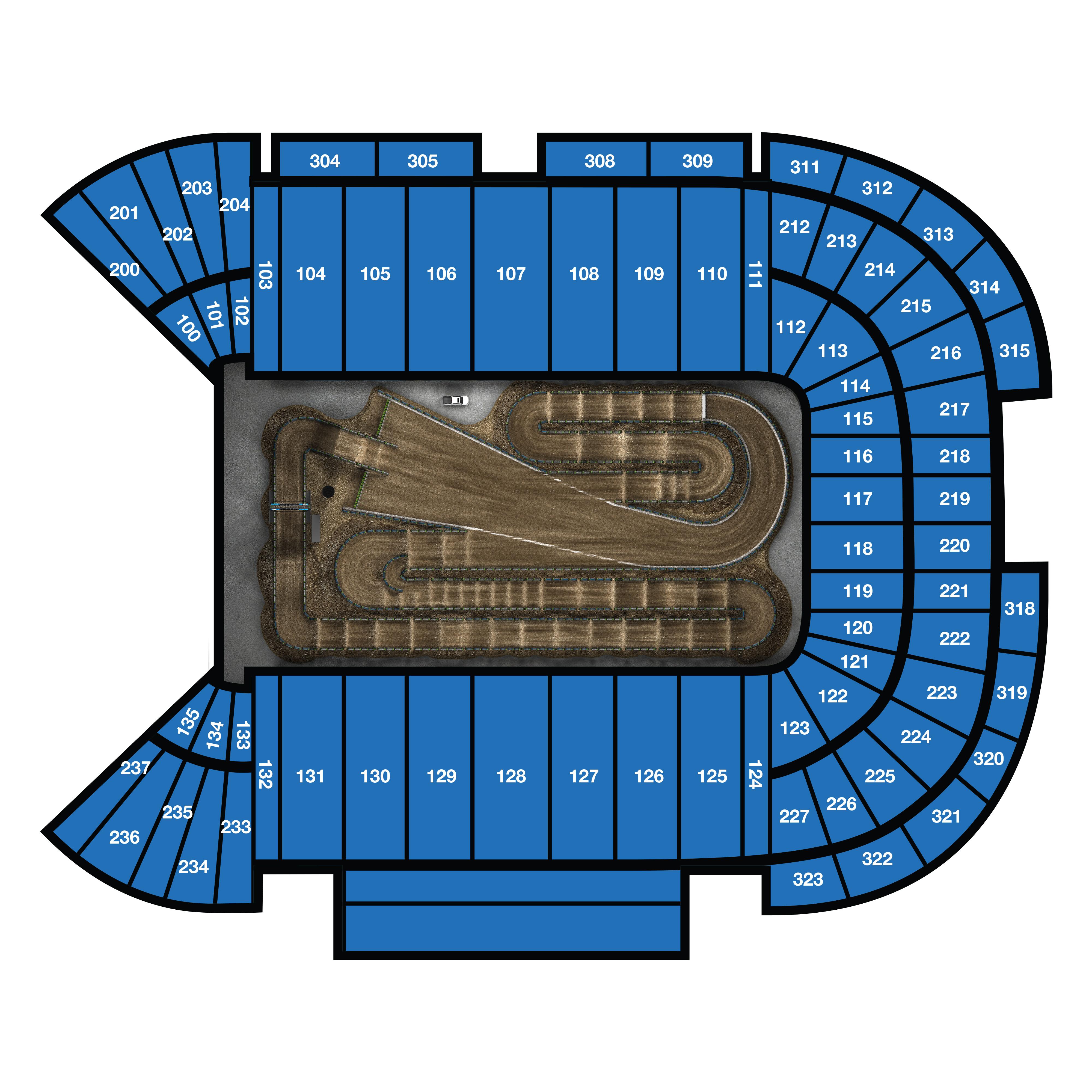 Vegas Seating Chart