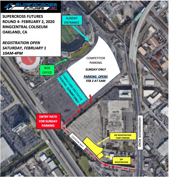 Oakland SXF Map
