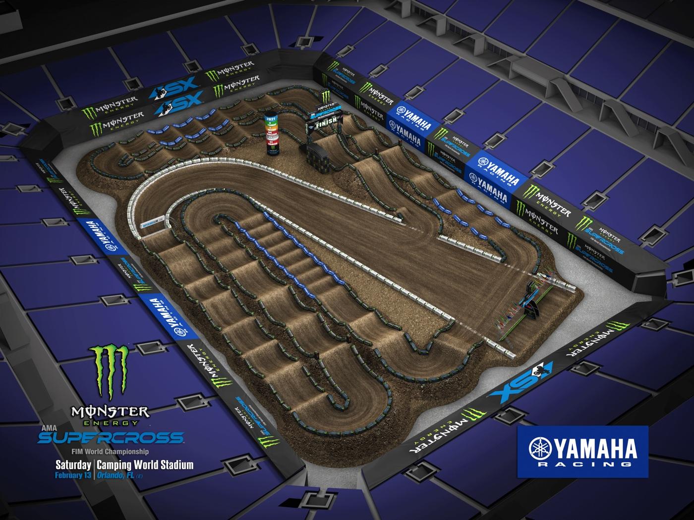 Round 7 – Orlando Track Map