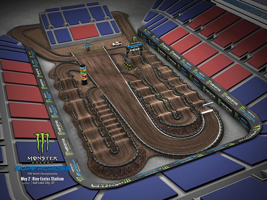 Salt Lake City track layout