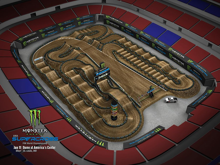 St. Louis 2020 Track Map