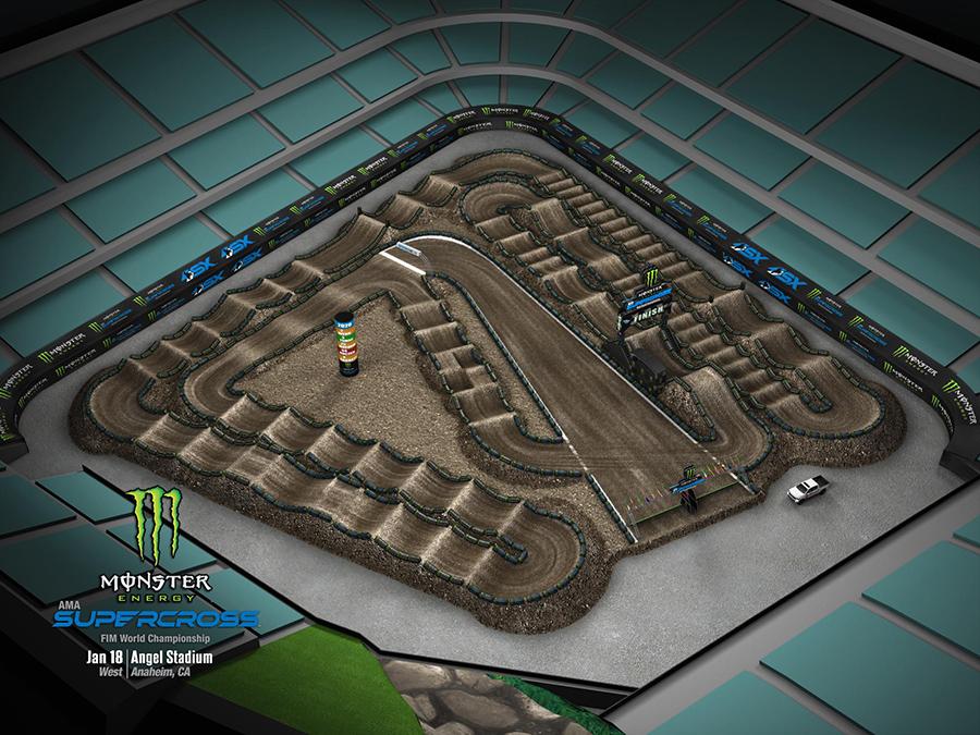 Anaheim 2 track layout