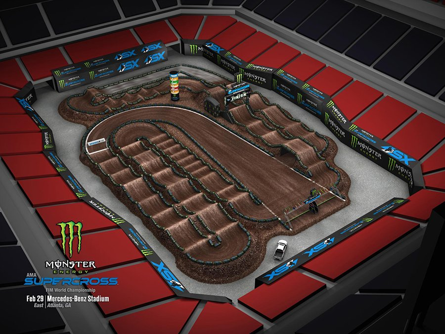 Track Map - ATL