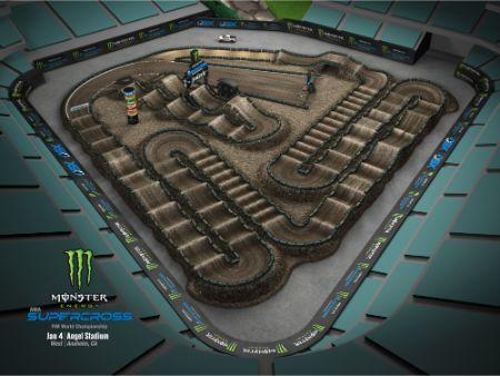 Track Layout Anaheim