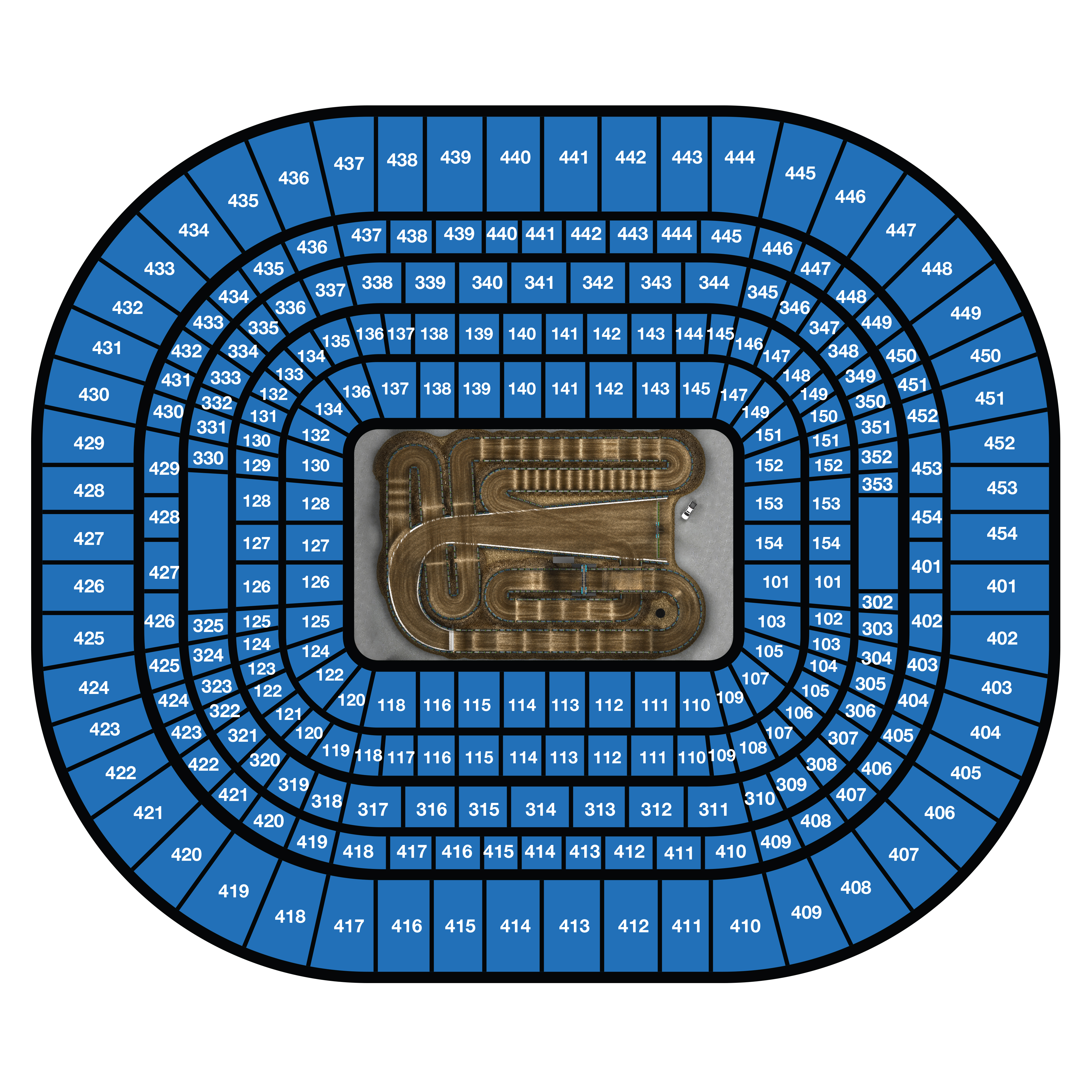 St. Louis Seating Chart