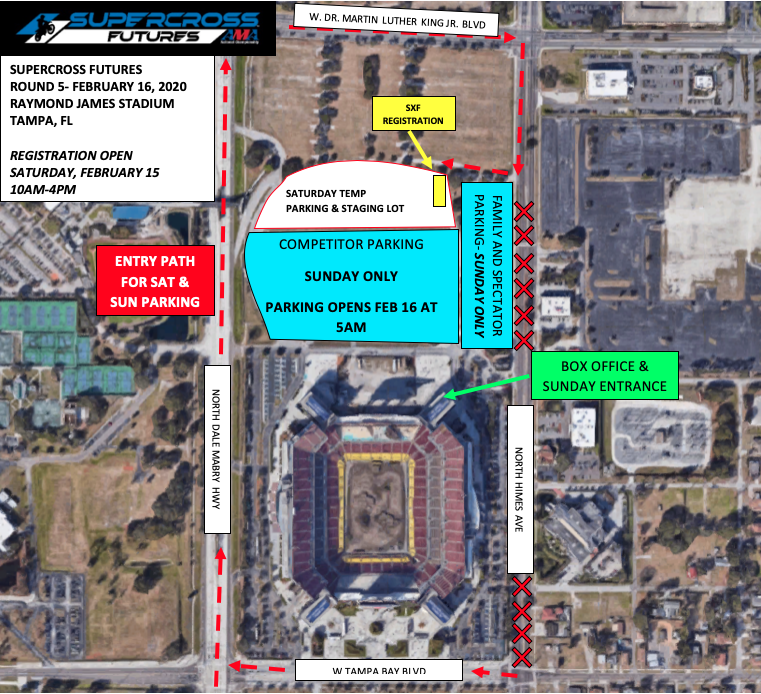 SXF Tampa Venue Map