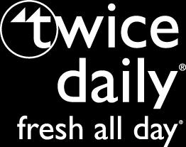 Twice daily