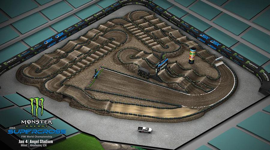 Anaheim 1 Track Map