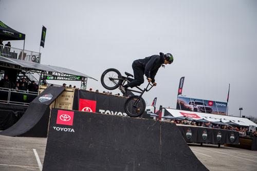 Toyota BMX Triple Challenge