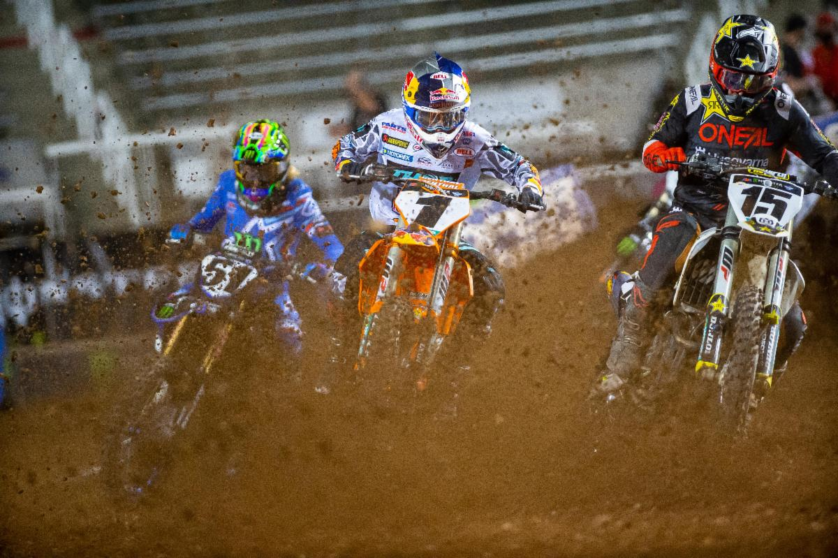 Cooper Webb Earns 450SX Class Victory at Round 12