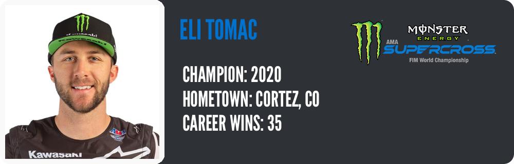 Eli Tomac - 2020 Champion