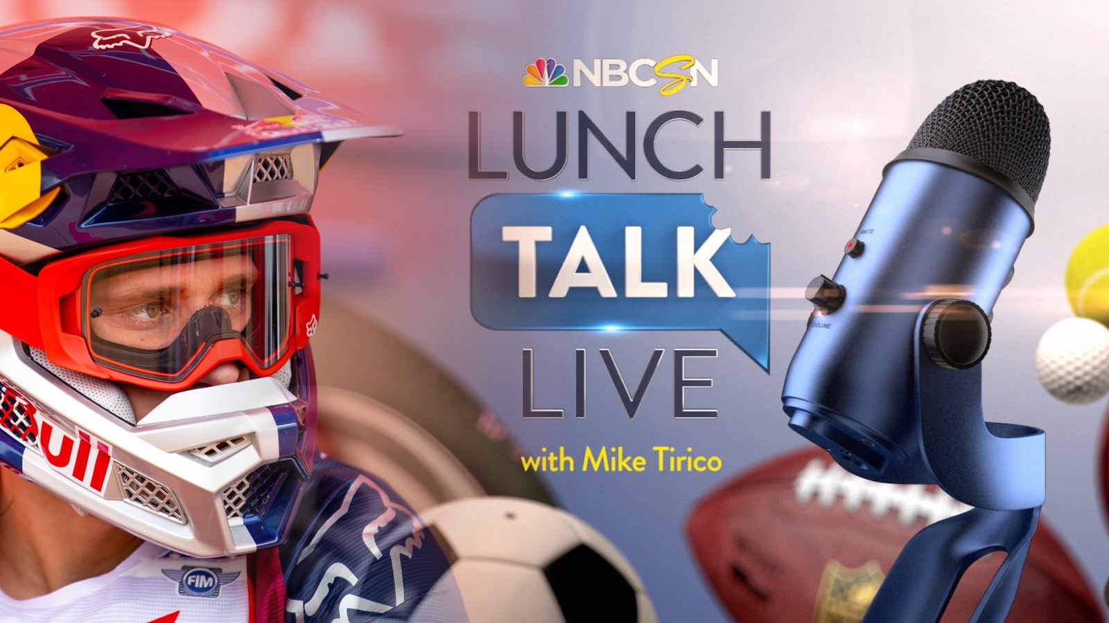 Ken Roczen on NBC Sports' Lunch Talk Live