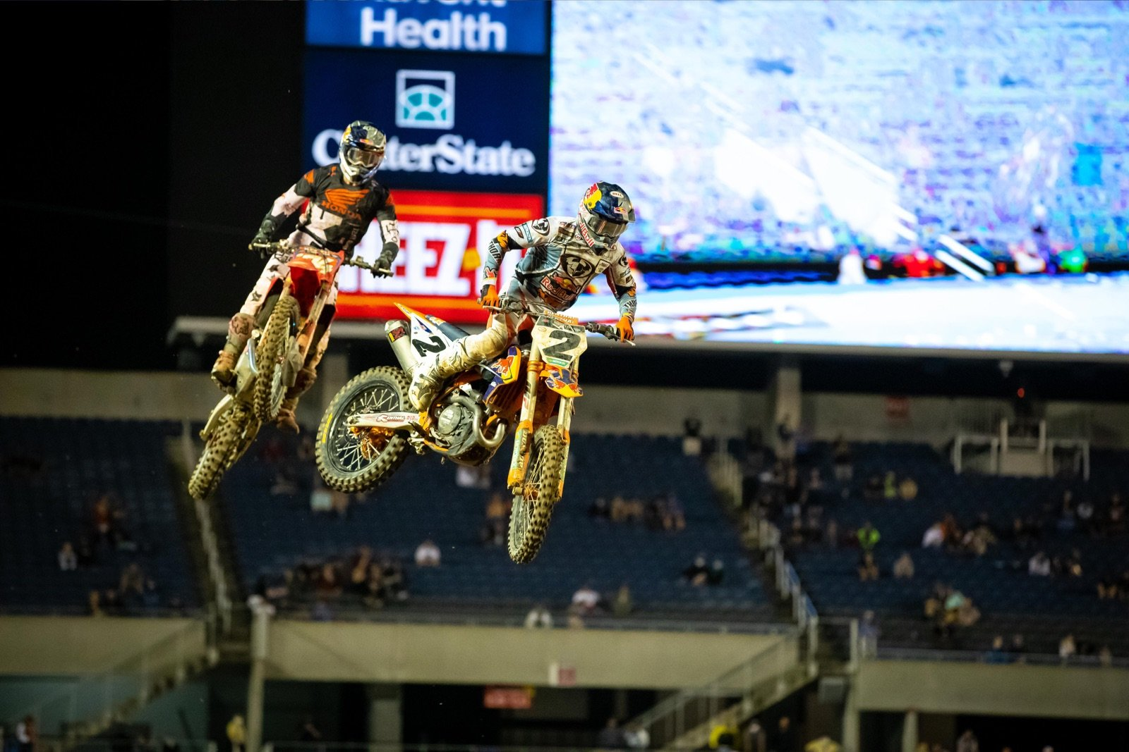 Cooper Webb used speed, timing, and race management