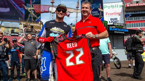 Chad Reed Jersey