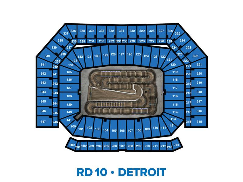 2022 Monster Energy Supercross Round 10 Seating Chart