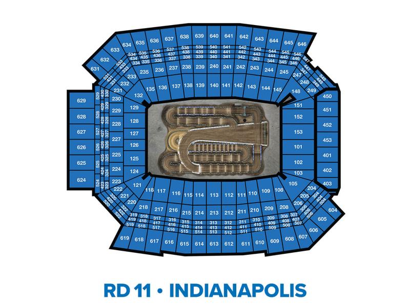 2022 Monster Energy Supercross Round 11 Seating Chart