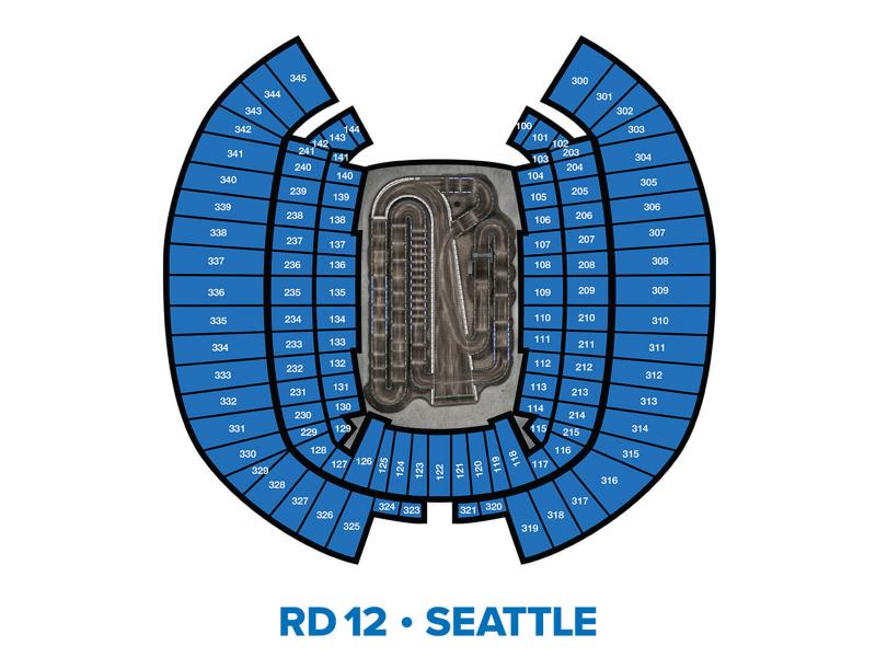 2022 Monster Energy Supercross Round 12 Seating Chart