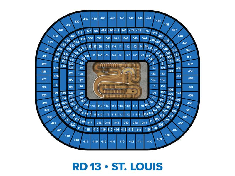 2022 Monster Energy Supercross Round 13 Seating Chart