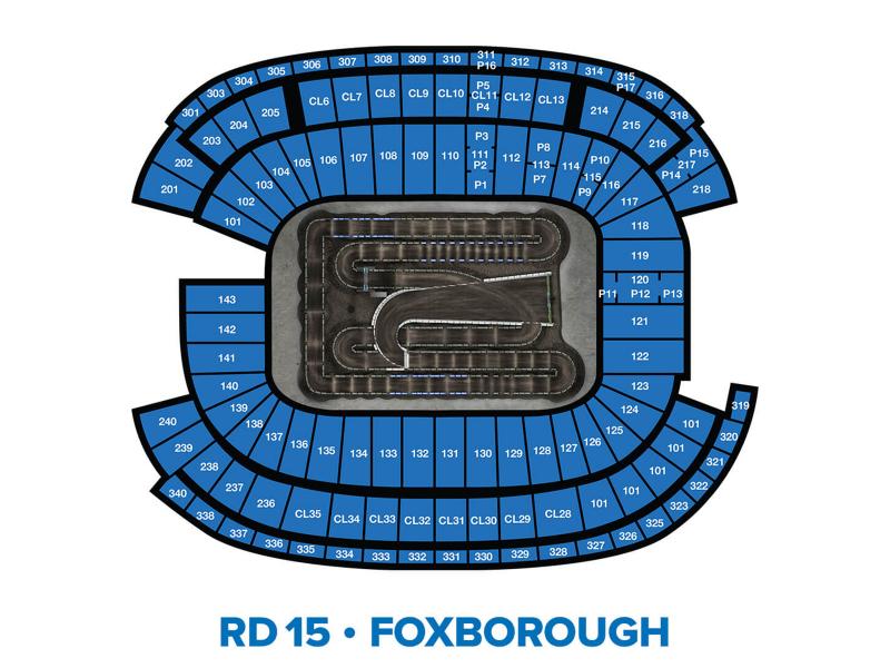 2022 Monster Energy Supercross Round 15 Seating Chart