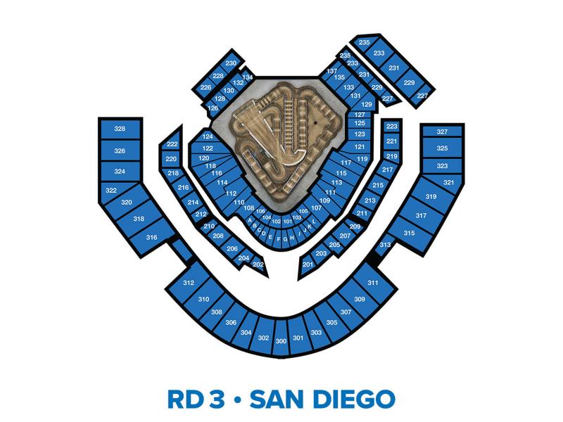 2022 Monster Energy Supercross Round 3 Seating Chart