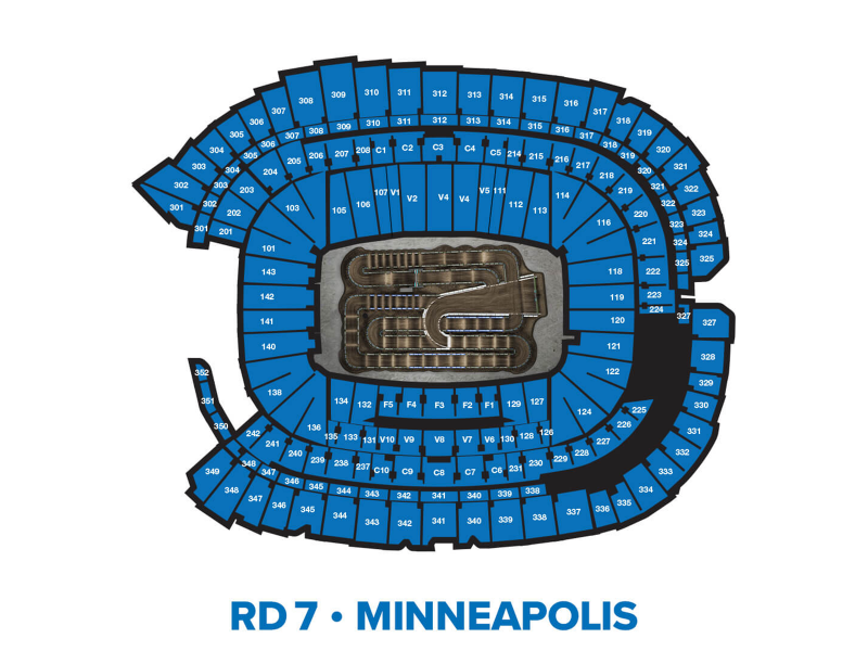 2022 Monster Energy Supercross Round 7 Seating Chart