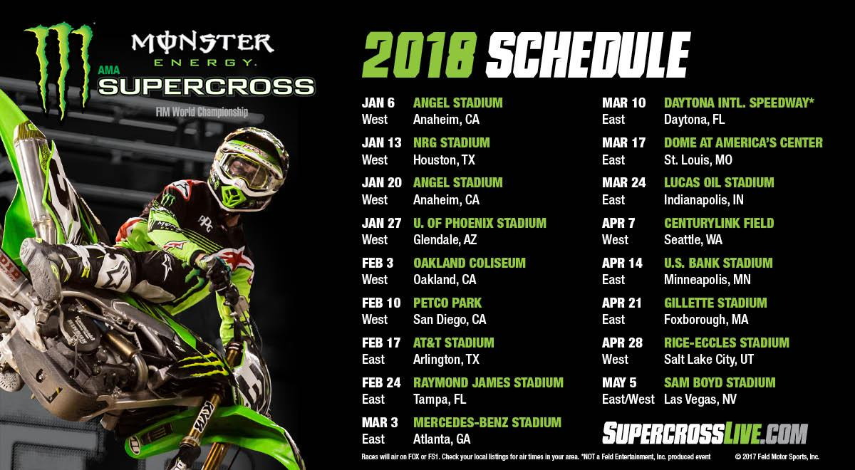 2018 Schedule And Tickets