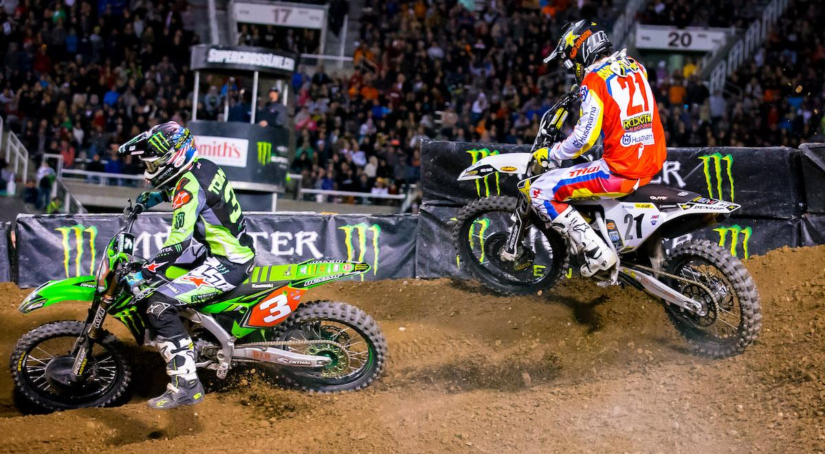 Supercross Storms Into East Rutherford For Penultimate
