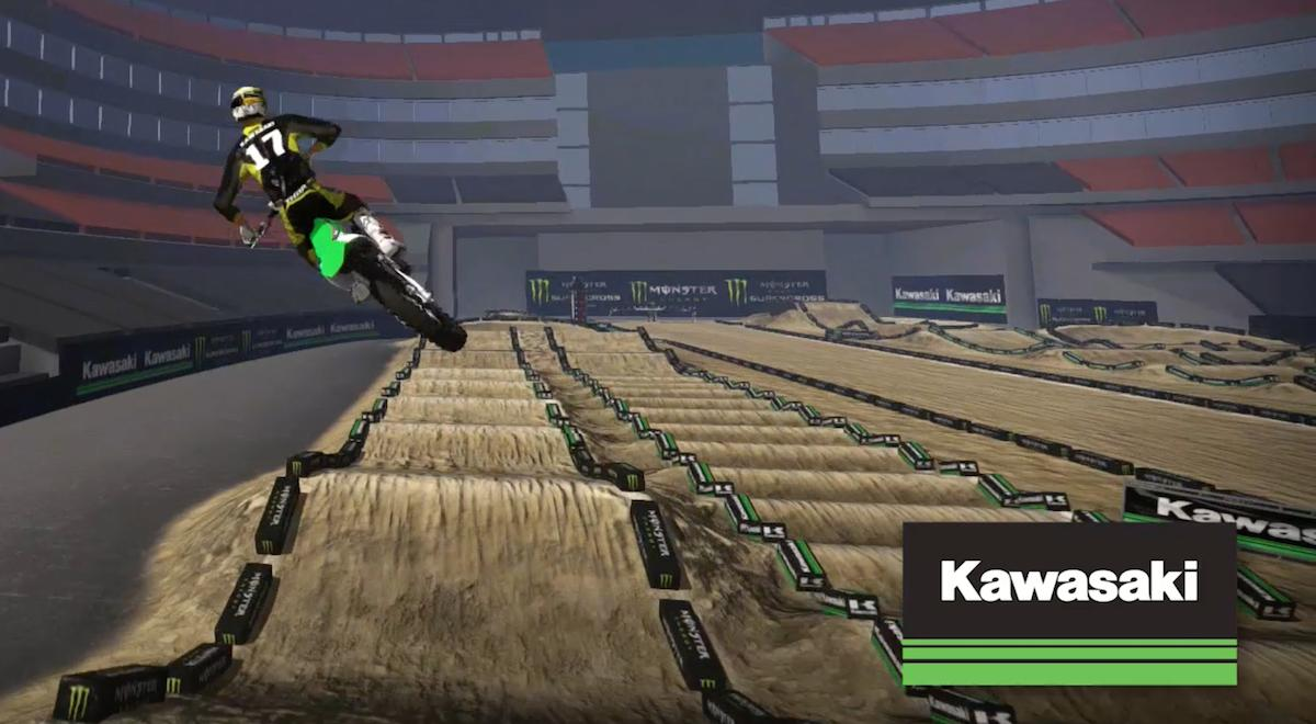 Video Kawasaki Track Map For Saturday Night S Race In
