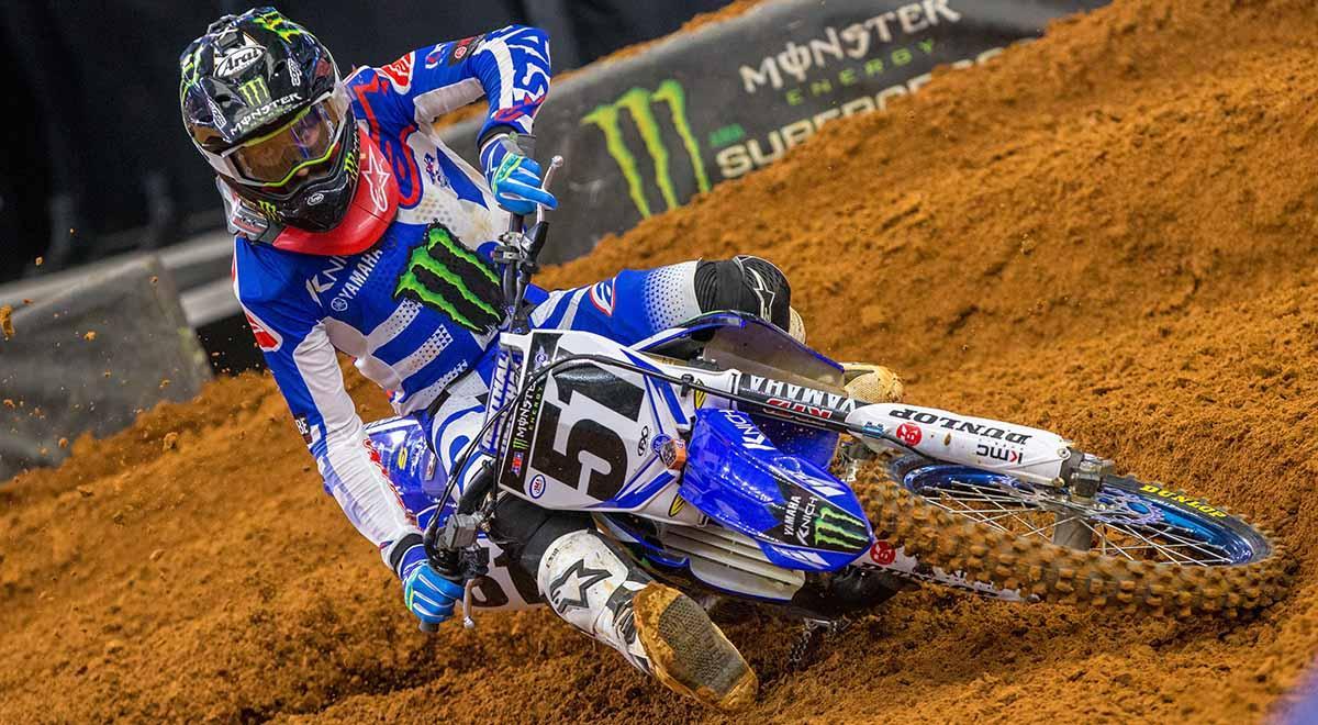 Justin Barcia Injures Hand at Arlington Round 7 Supercross
