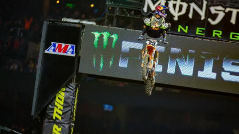 Marvin Musquin Captures 2018 Monster Energy Supercross Anaheim Opener