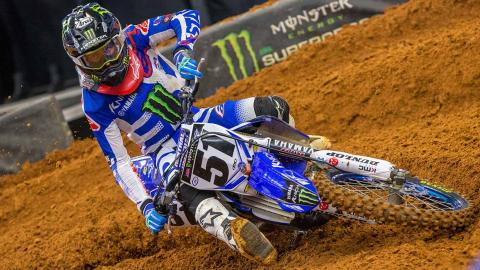 Justin Barcia Injures Hand at Arlington Round 7 Supercross