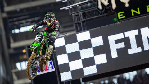 Eli Tomac Wins Round 7 at Arlington