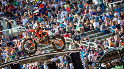 Musquin Wins Salt Lake City Supercross!
