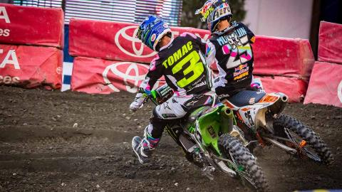Musquin Battles Tomac at Foxborough