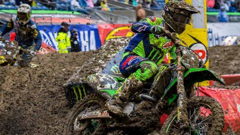 Eli Tomac Wins 450SX Seattle