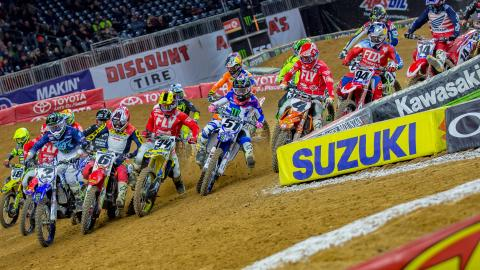 450SX Start Houston