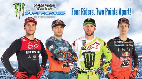 Monster Energy Supercross 2019 Arlington Round 7