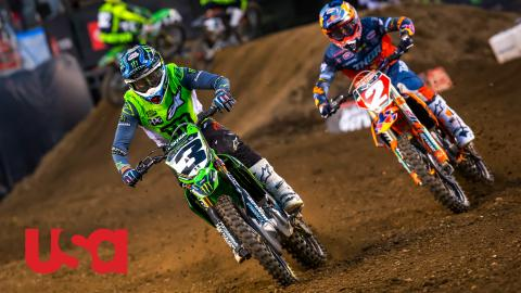 The Las Vegas Supercross will be on the USA Network