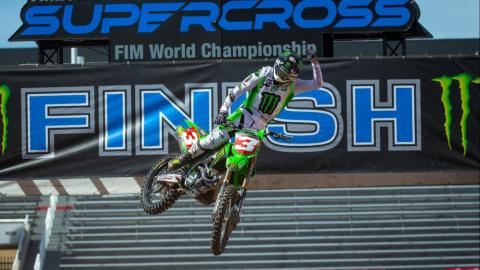 Tomac Grabs First 450SX Championship